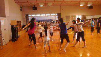 「ふくしま未来神楽」 神楽舞の稽古がいよいよ始まりました!